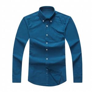 2018 mens Tasarımcı uzun kollu Casual Katı gömlek erkek ABD Marka RL Polos Gömlek moda Oxford sosyal gömlek Küçük At Elbise Gömlek