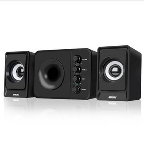 SADA D-205 2.1 Haut-parleur avec caisson de basses - Idéal pour la musique, les films, les ordinateurs multimédia et les systèmes de jeux