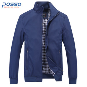 Autumn blue bomber jacket men thin winter jacket for men waterproof fall casual plus size long sleeve winter coat