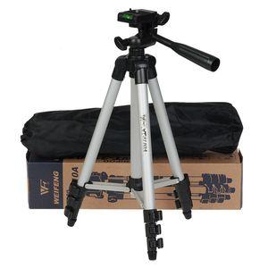 Trípode de cámara portátil de aluminio trípode 3110A Mini trípode para Canon Nikon Sony Cámara Cámara profesional Trípode