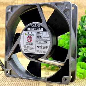 For OMRON OMRON R87F-A4A13HP AC200V 14 12W 120*120*25MM aluminum frame fan