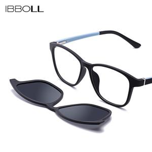 оптовые продажи Мужские солнцезащитные очки Polarzied Brand Designer 2018 Роскошные солнцезащитные очки для мужчин клип на Sunglass Square losculos De Sol 7006