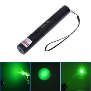 높은 전력 조정 가능한 Zoomable 초점 레코딩 그린 레이저 포인터 펜 301 532nm 연속 라인 500-10000 미터 레이저 범위 30PCS / LOT