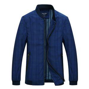 Summer Fashion Men's Polyester Jacket Classic Business Outwear High Quality Male Windbreak Streetwear Travel Coat  XMR18
