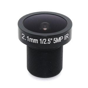 Octavia lente de 2,1 mm de 5MP Ojo de CCTV lente de la cámara 155D Compatible amplia panorámica Angular CCTV para la cámara HD IP M12 Monte