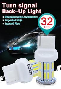 PY21W BAU15S 7440 3156 7443 3157 1156 P21W LED 자동차 역전 전구 후미등 신호등 W21W 32SMD 7020 흰색 백업 램프