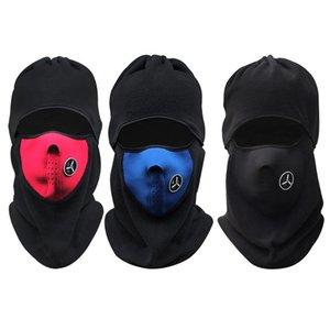 Atacado-Inverno Mais Quente Ciclismo Cap Windproof Pescoço Protetor Máscara Facial Esporte Ciclismo Correndo Ciclismo Pescoço Máscara Chapéu Cachecol