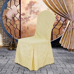 Fodera per sedia lavabile asportabile Multi colore per banchetti per feste dell'hotel Decorare coprisedili di alta qualità 18wt C R