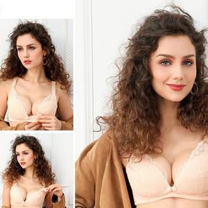 Front-Button für schwangere Frauen Still-BH weichen atmungsaktive Spitze Blumen schwangerer Frauen Still- Unterwäsche Still-BHs