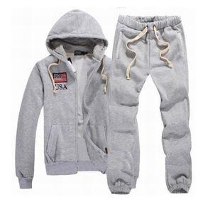 Man Fashion Autumn Sportanzug Hoodies + Jogginghose High Quality New Herrenbekleidung 2Pcs Sets Schlank Anzug