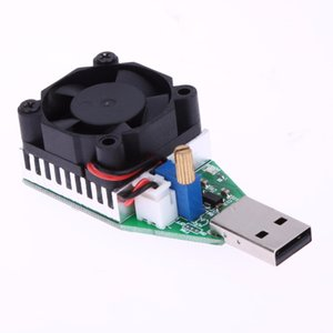 15W usb Load usb Resistor with Fan RD Industrial Grade Electronic Load Discharge Battery Test Capacity Adjustable Current
