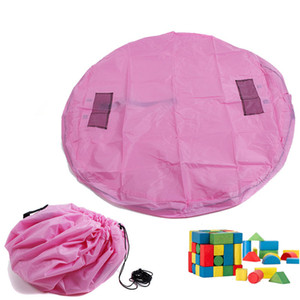 Toy Storage Bags for Kids Children Infant Baby Playing Mat High Quality Baby Rugs Quick Kids Storage Bag
