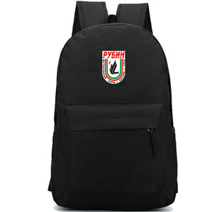 FC Rubin Kazan Club Backpack Leam Team Day Pack Nice حقيبة مدرسية كرة القدم Packsack Soccer Rucksack الرياضة المدرسية في الهواء الطلق Daypack