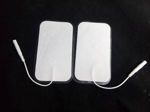 Non-woven Electro Pads Sticky Electrode Patch Accessories for Electric Shock Therapy Tens EMS Machine 9*5cm 7*12cm 20pcs(10pair lot)