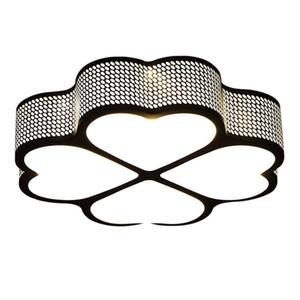 20 Polegadas LEVOU Quarto Lâmpada de Teto Luz de Ferro Oco Sala de Estudo Lâmpadas de Teto Sala de Jantar Luzes de Teto Luminárias