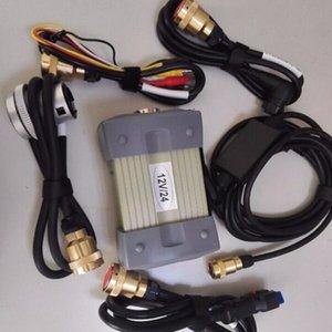 (12v / 24v) MB Star C3 con 5 Cables herramienta de diagnóstico automático MB C3 sin HDD mb estrella c3 para camión / analizador de motor de coche multi-idioma