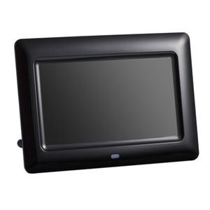 7 inç Ekran 800X480 Tam Fonksiyonlu Dijital Fotoğraf Çerçevesi Saat Müzik Video Oynatıcı Uzaktan Kumanda ile Elektronik Albüm Resim Çerçevesi