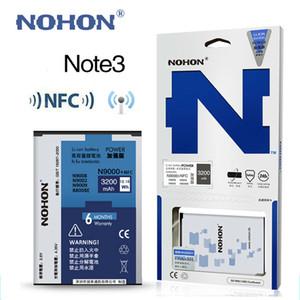الأصلي بطارية nohon B800BE NFC لسامسونج غالاكسي ملاحظة 3 III Note3 N9000 N9006 N9005 N9009 N9008 N9002 القدرة الحقيقية 3200mAh