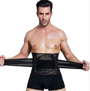NUEVA Men Shaper Body Shaper Slimming Belt Belly Belt Belt Man Waist Trainer Tummy Control Estómago Shapewear Hombres Que Adelgazan Shaper Chaleco Corsé
