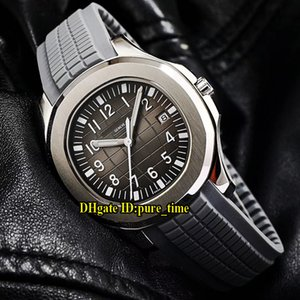 Sport Aquanaut 40 millimetri 5167A Grey Dial 5168 Asian 2813 Automatic Watch Mens 316L cassa in acciaio cinturino in gomma grigia orologi di alta qualità