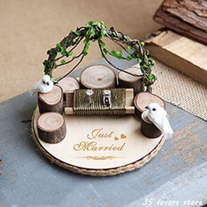 özel aşk kuş halka yastık nişan evlilik teklifi dekorasyon düğün halka tutucu yastık kama yastık