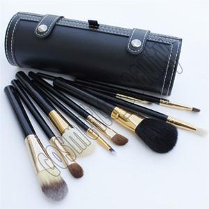 Makeup Brush Barrel Bottle 9 pieces Makeup brush Tools Black Brush Barrel Bottle DHL Free shipping