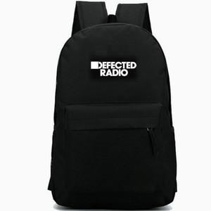 حقيبة ظهر DeFected السجلات الشهيرة daypack Top dj schoolbag منتج الموسيقى حقيبة الظهر حقيبة مدرسية الرياضة حزمة يوم في الهواء الطلق