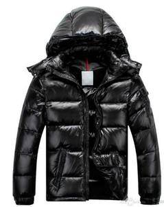 Nagelneue Mann-Frauen-beiläufige Daunenjacke MAYA Daunenjacke Herren Outdoor-Pelz-Kragen-Warm-Feder-Kleid Mann Wintermantel outwear Jacken Parkas