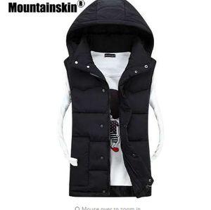 Mountainskin Sonbahar Ceket erkek Yelek Kadın 2018 Casual Katı Palto Erkekler Yelek Kolsuz Moda Erkek Giyim Çift SA288