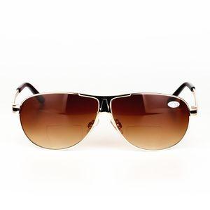 Lentes Gafas de lectura bifocales Gafas de dioptría unisex Gafas de sol polarizadas masculinas Presbiópicas + 1.0 + 1.5 + 2.0 + 2.5 + 3.0 + 3.5