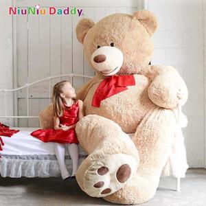 Wholesale-200cm Big Size USA Teddy Bear Large Bearskin Giant Bear #