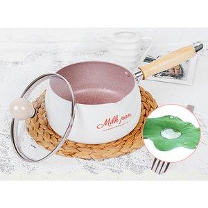 Küchen-Wannen 16 Cm Nützlicher No-Stick Topf-Minimilch-Wannen-Schokoladenmilch-Suppe-Heizungs-Topf-allgemeiner Gebrauch für Gas-Induktionsherd