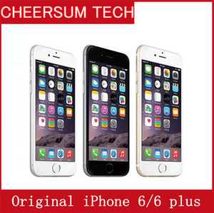 Entriegelte Apple iPhone 6/6 Plus-Handys 1GB RAM 16 / 64GB ROM 4.7'IPS GSM WCDMA 4G LTE Refurbished NO Touch-ID frei DHL renoviert