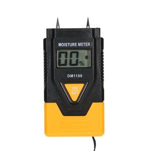 Misuratore di umidità digitale di Freeshipping Termoigrometro di qualità LCD Materiale da costruzione in legno Rilevatore di umidità Misuratore di umidità Misuratore di temperatura Misuratore di temperatura