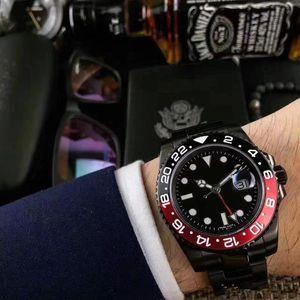 Relógios de luxo de alta qualidade BRAND NEW II Assista 'Batman'116710 PRETO VERMELHO CERÂMICA Mens Automático Assista Men Watch Wristwatch