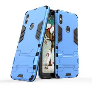 Per Xiaomi Redmi S2 Custodia Supporto opzionale Rugged Combo Hybrid Armor Bracket Impact Holster Cover protettiva per Xiaomi Redmi S2