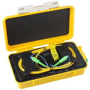 شحن مجاني SC-APC OTDR Dead Zone Eliminator ، حلقات الألياف ، الألياف البصرية OTDR إطلاق كابل مربع 1 كيلومتر SM 1310 / 1550nm وضع واحد