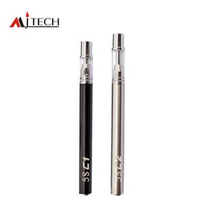 Disposable Empty Vape Pen 5S Vaporizer Pens C1 C2 Ceramic Coil Glass Cartridges 0.3ml 0.5ml 320mAh Battery E cigarette Kit