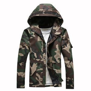 HCXY Tactique Camouflage Vestes Hommes Coupe-Vent Hommes Femmes Amoureux travail Manteaux et vestes Chaqueta Hombre