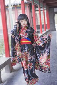 Sexy Anime Hell Girl Cosplay Kleidung Traditionelle japanische Kimono Kleid Lolita Mädchen Kostüm Maid Cosplay Dress Princess Dress