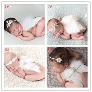 Güzel Bebek Melek Kanat Yenidoğan Fotoğraf Dikmeler Seti Bebek Melek Peri Beyaz Tüy Kanat Kostüm Fotoğraf aksesuvar
