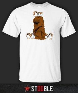 Crazy Porg Wookie T-shirt-Direto Da Estoquista New T Shirts Tops Engraçados Tee New Unisex Engraçado Tops Frete Grátis