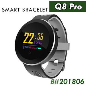 Farbe Q8 Pro Smart Band Unterstützung Herzfrequenz blutdruck sauerstoffmonitor IP68 Wasserdichte fitness tracker smart armband uhr