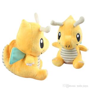 18CM Dragonite della bambola della peluche molle del fumetto Stuff Animali bambole Kawaii Animali figura giocattolo per i regali di Natale del bambino dei capretti