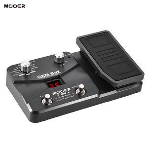 MOOER GEM BoX Guitar متعددة التأثيرات الدواسة تدعم وظيفة الضبط مع وضع تخزين دواسة التعبير