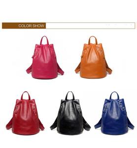 Mochila mujeres estilo coreano 2018 nueva mochila antirrobo señoras de moda mochila diseñador de viajes mochila envío gratis