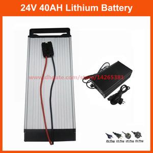 Batterie de support électrique arrière de vélo de lithium de batterie de 24V 40AH de scooter de 1000W 24V avec le chargeur exempt de douane