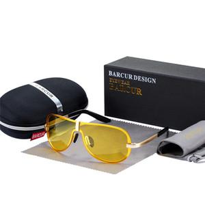 venta al por mayor Eyewear Trending Style gafas para el conductor Gafas de sol masculinas gafas de sol polarizadas negro gafas de visión nocturna hombres accesorios