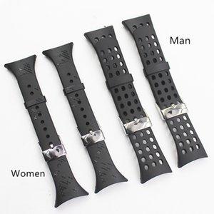 Cinturino orologio in silicone per cinturini in gomma da polso SUUNTO M1 M2 M4 M5 M Series