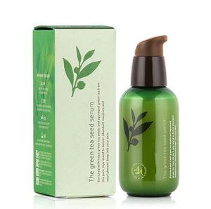 دروبشيبينغ إينيسفري زجاجة خضراء كريم مصل الشاي البذور الخضراء ترطيب الوجه العناية غسول 80 ملليلتر جديد الوجه للعناية بالبشرة كريم